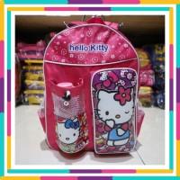 Tas Ransel Anak Sekolah Motif Hello Kitty Warna Pink Lucu Perempuan