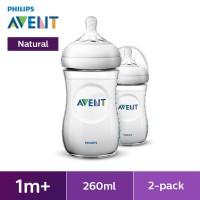 Philips Avent Bottle Natural 260 ML/9OZ twin - SCF693/23
