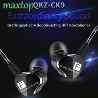 Qkz ck9 Earphone Sport Model In-ear Suara Bass Subwoofer HiFi DJ