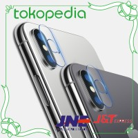 iPhone XS MAX X XR 8 7 6 6 S film pelindung kamera kaca tempered