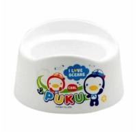Puku Baby potty luna toilet training white
