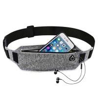 Toemsedia Tas Pinggang Olahraga Running Waist Bag [Gray] Cashback