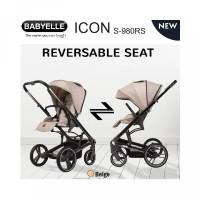 Babyelle Icon S 980 RS Baby Elle S980 Reversible Stroller Hadap Ibu