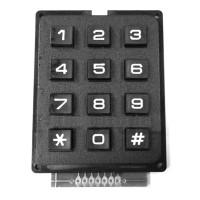 Sale 1Pc Modul Keypad Keypad Matrix Array 12 Tombol 4x3 untuk