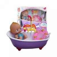 Mainan Anak Perempuan Mini Fun Bathtub Main Air Electric Water Bath