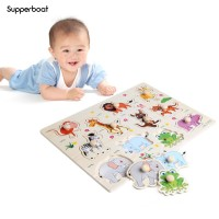 SPB Wooden Peg Puzzle Baby Children Educational Learning
