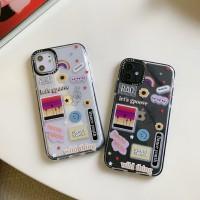 Ins Casing Soft Case iPhone 6 6S 6sp 7 8 7P 8P x Desain Supreme
