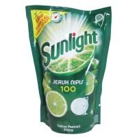 SUNLIGHT PENCUCI PIRING LIME REFIL 1600ML