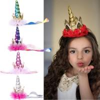 Bandana Warna Pelangi untuk Kostum Cosplay / Pesta Ulang Tahun