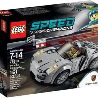 Unik LEGO 75910 SPEED CHAMPIONS Porsche 918 Spyder Berkualitas