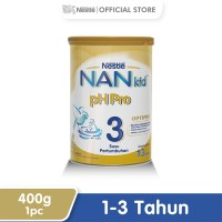 Nestle Nan Ph Pro Optipro Susu Pertumbuhan 1-3 Tahun Kaleng 400 g
