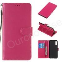 Samsung Galaxy A10 A20 A30 A40 A50 A60 A70 A80 A90 Flip Case Solid