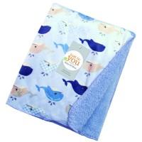 Carters BABYL Carter Double Fleece Tanpa Topi / Blanket Baby