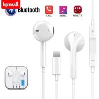 Headset Earphone Bluetooth Kabel untuk iPhone 7 8 Plus X XR XS Max