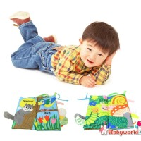 «b1▶Baby Toys Animal Tail Cloth Books Early Education