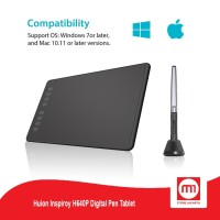 Huion Inspiroy H640P Digital Pen Tablet Garansi Resmi