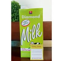 Diamond UHT Susu Low Fat 1 Liter
