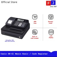 Casio SE-G1 Mesin Kasir Electronic Cash Register Garansi Resmi