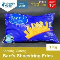 Premium French Fries Shoestring Bart's / Kentang Goreng Bart's