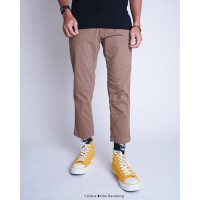 Celana Indie Bandung - Ankle Pants Mocca