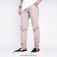 Celana Indie Bandung - Jogger Noadie Premium Mocca