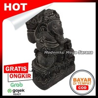 Pajangan Miniatur Patung Ganesha T15 - Non Tedeng 10x7x15 cm
