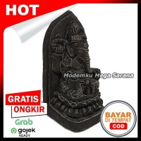 Pajangan Miniatur Patung Ganesha T15 - Tedeng 7x7x15 cm
