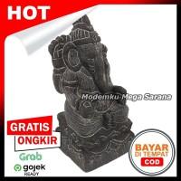 Pajangan Miniatur Patung Ganesha T12 - Non Tedeng 6x6x12 cm