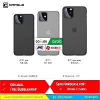 CAFELE SEMI HARD CASE IPHONE 11 12 XI XII / 11 12 PRO / 11 12 PRO MAX