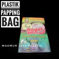 PLASTIK SEGITIGA PIPING PAPPING BAG UNTUK MENGHIAS KUE KANTONG SPUIT