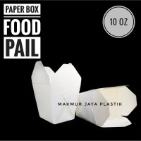 [ FOOD PAIL 10 OZ – 10 PC ] FOOD BOX / PAPER BOX / KOTAK DUS MAKAN M