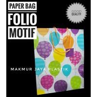 [ PARTY PREMIUM ] PAPER BAG XL MOTIF PARTY XL 30 X 40 X 12 CM