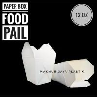 [ FOOD PAIL – 10 PC ] FOOD BOX / PAPER BOX / KOTAK DUS MAKAN 12 OZ