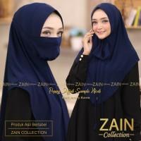 jilbab/hijab/kerudung/bergo instant masker zain poppy khimar jersey