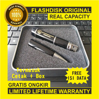 LARIS BANGET ! USB Flashdisk Pen 4GB Custom 3 in 1 - Hitam
