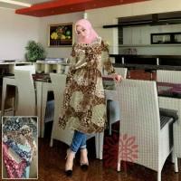 Tunik Feranda Jusjus Tunik Ethnic Dress Wanita Tunik Rayon Midi Dress