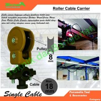 Rolling Cable Hanger Single