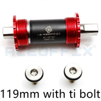 BB Titanium Aceofix Axis Brompton Merah seli nn store sepeda lipat