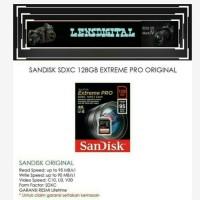 Sandisk SDXC 128GB EXtreme Pro-Memory SD Card Sandisk 128Gb Original