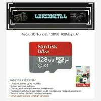 Micro SD Sandisk 128GB 100MBs-Memory Card Micro SD 128GB