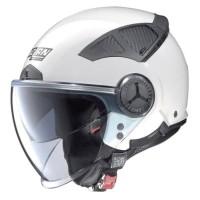 Helm Nolan N33 Evo Classic 002 Metal White | Helm Half Face|Helm Retro