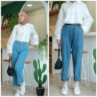 palazzo pants/bawahan muslim jeans/celana muslim murah/celana jeans cw