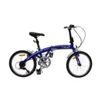 Fingard Sepeda Lipat Commute 20 Inci - Biru