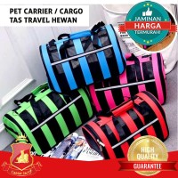 Pet Carrier Cargo Portable - Tas Travel Hewan Anjing Kucing PC41