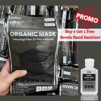 Bowin Masker Organic - (Masker tahan air)