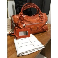 PRELOVED AUTHENTIC BALENCIAGA BAG (ORANGE)