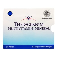 THERAGRAN M TAB 4s MULTIVITAMIN MINERAL PERSAMAAN RENOVIT