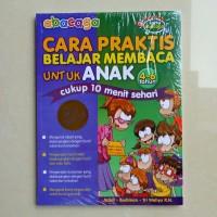 Buku Anak TK SD Kelas 1 - buku ABACAGA Cara Praktis Belajar Membaca