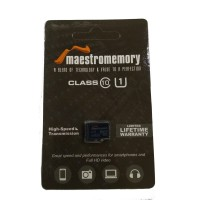 MicroSD Maestro 64GB Class 10 Memory Card Micro SD Memory HP