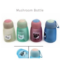 Mushroom Cute Bottle / Botol Minum Model Jamur